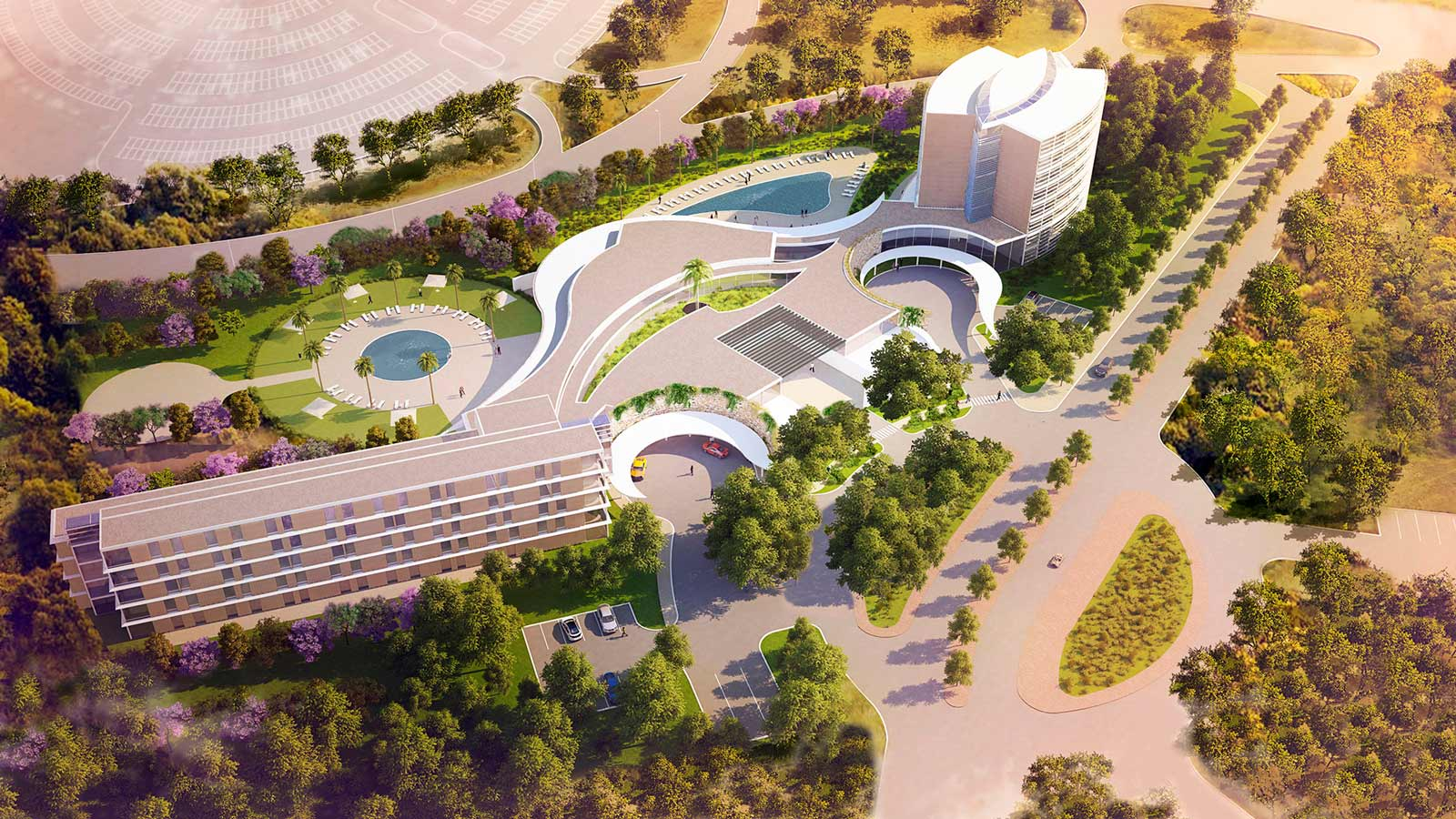 perspective-concours-dl2a-complexe-hotelier-casablanca