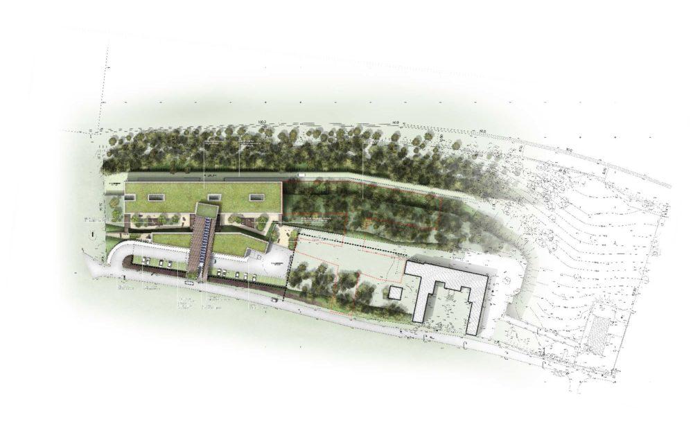 plan masse architecture séquence